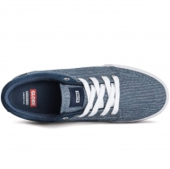 GS - Navy Chambray/White