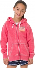 SUNSET PALM ZIP THROUGH HOODY