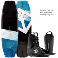 Connelly Pure 141 Wakeboard w/ Frequency OSFA Boot