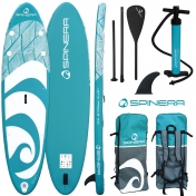 "Spinera Let's Paddle 9'10"" Inflatable SUP"