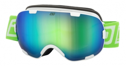 DD Goggle Afterburner 0.5-White-Grey|Green Fusion Mirror
