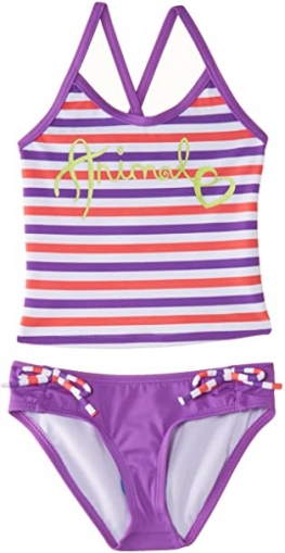 ANIMAL GIRL'S PALTEN STRIPED TANKINI