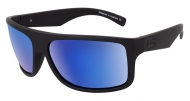 Anvil - SatinBlack-Grey|Blue Mirror Polarised Sunglasses