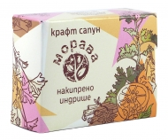 Natural Craft soap Charming Geranium